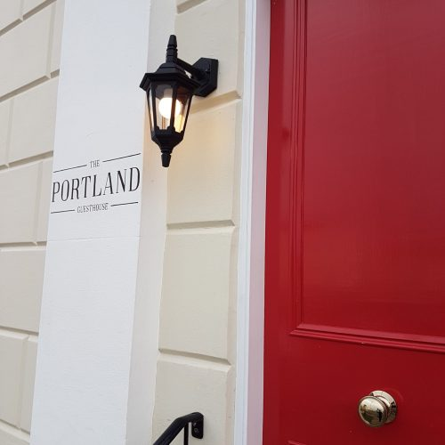 Entrance to The Portland Guest House
